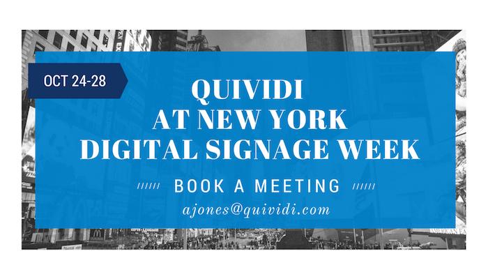 Quividi to Attend New-York Digital Signage Week