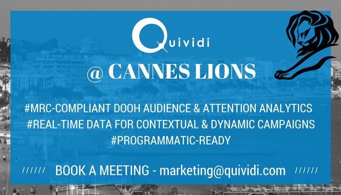 Quividi at Cannes Lions 2017
